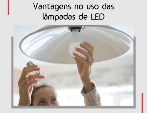 Vantagens no uso de lâmpadas led