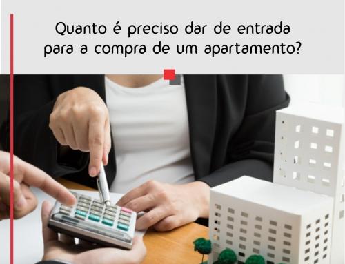 Quanto é preciso dar de entrada para a compra de um apartamento?