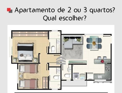 Apartamento de 2 ou 3 quartos? Qual escolher?